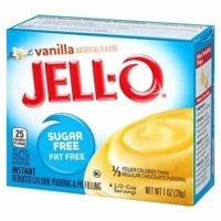 Jello sugar free vanilla pudding mix