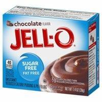 Jell-O Sugar-Free Chocolate Instant Pudding