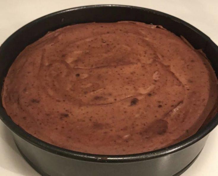 Mint Oreo Chocolate Cheesecake
