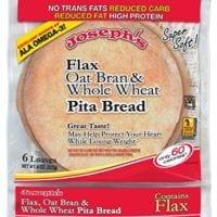 Joseph's Flax Oat Bran and Whole Wheat Pita Bread