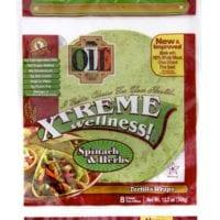 Ole Xtreme Wellness High Fiber Low Carb Wraps