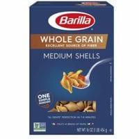 Barilla Whole Grain Pasta, Medium Shells