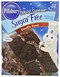 Pillsbury sugar free Devil's Food Cake Mix