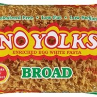 No Yolks Extra Broad Egg Noodle