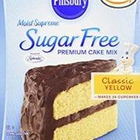 Pillsbury sugar free yellow cake mix