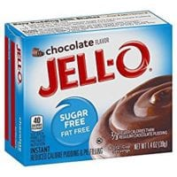 Jell-O Sugar-Free Chocolate Instant Pudding Mix 1.4 Ounce Box