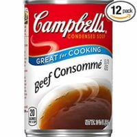 Campbell's Condensed Soup, Beef Consommé, 10.5 Ounce (Pack of 12)