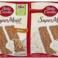 Betty Crocker Super Moist Spice Cake Mix - 15.25 oz - 2 pk