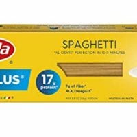 Barilla Protein Plus Pasta, Spaghetti, 14.5 Ounce (Pack of 12), (Packaging may vary)