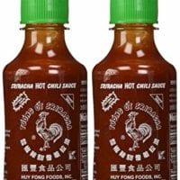 Huy Fong, Sriracha Hot Chili Sauce, 9 Ounce Bottle (2 Pack)