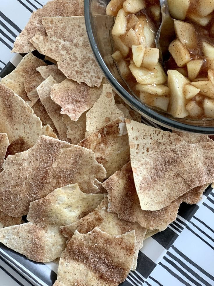 Low Point Cinnamon Crisps