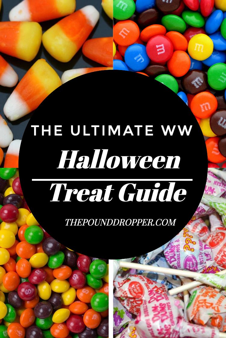 The Ultimate WW Halloween Treat Guide via @pounddropper