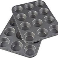 Nonstick Carbon Steel Muffin Pan, Set of 2