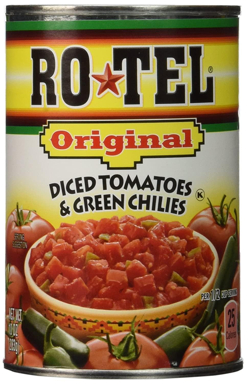 Ro Tel Original Tomato Diced Green Chilies