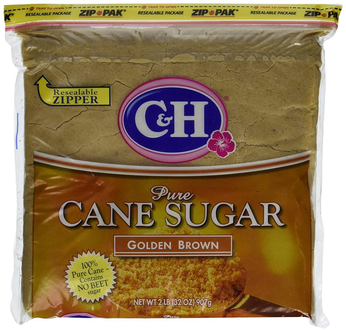 Cane Sugar, Golden Brown