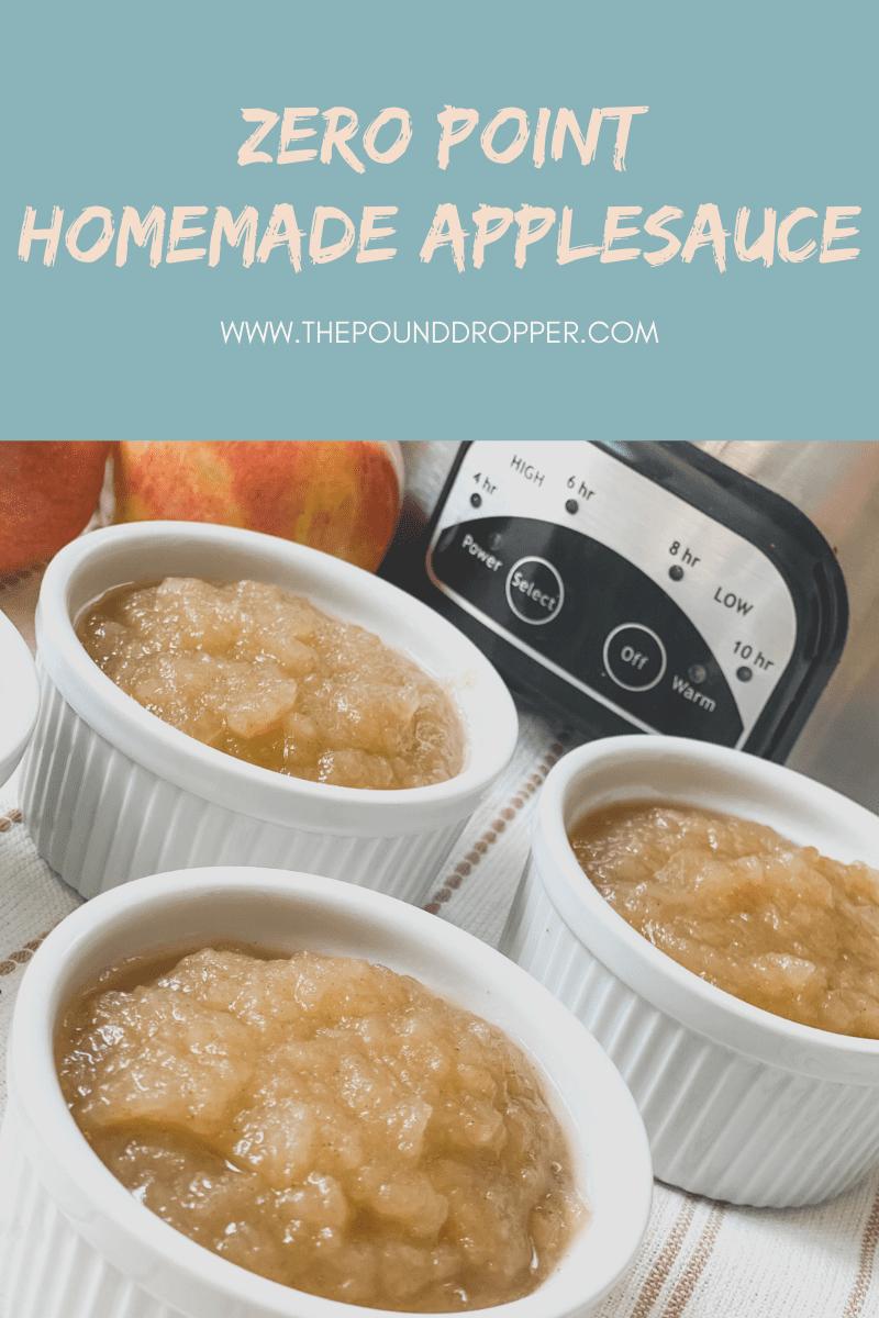 Zero Point Homemade Applesauce via @pounddropper
