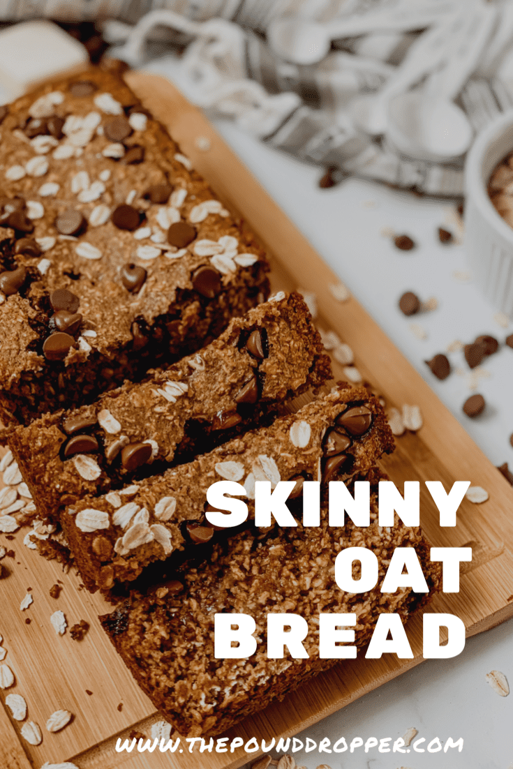 This Skinny Oat Bread is alow point bread you'll want to make weekly. It's simple to make,has no refined sugar or flour, and thebest part- it's healthy! via @pounddropper