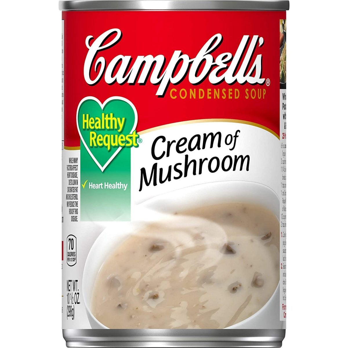 Campbell'sCondensedHealthy RequestCream of Mushroom Soup