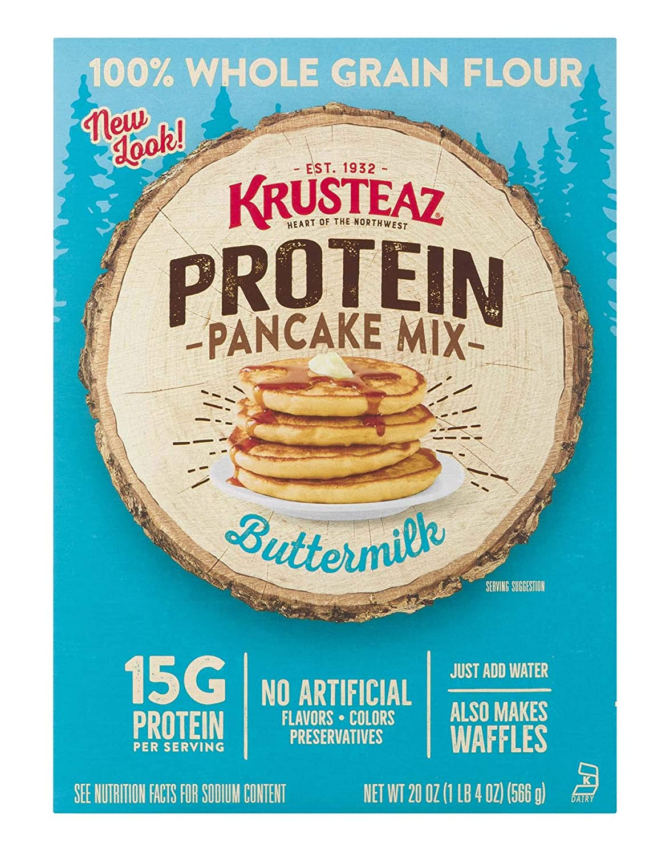 Krusteaz Protein Pancake Mix, Buttermilk