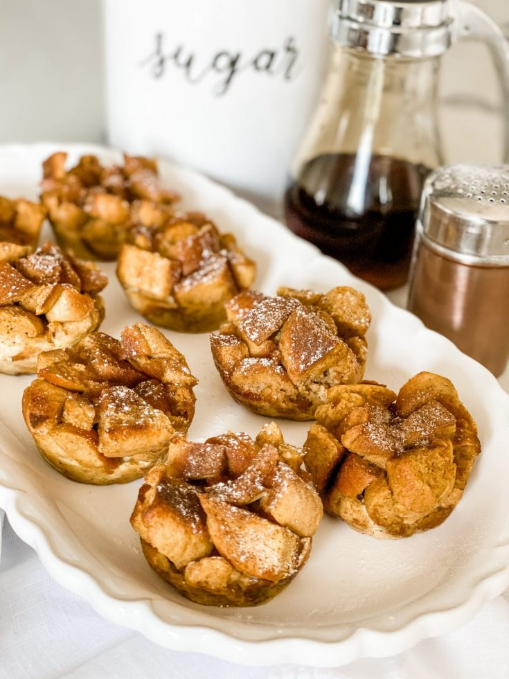Skinny French Toast Muffins