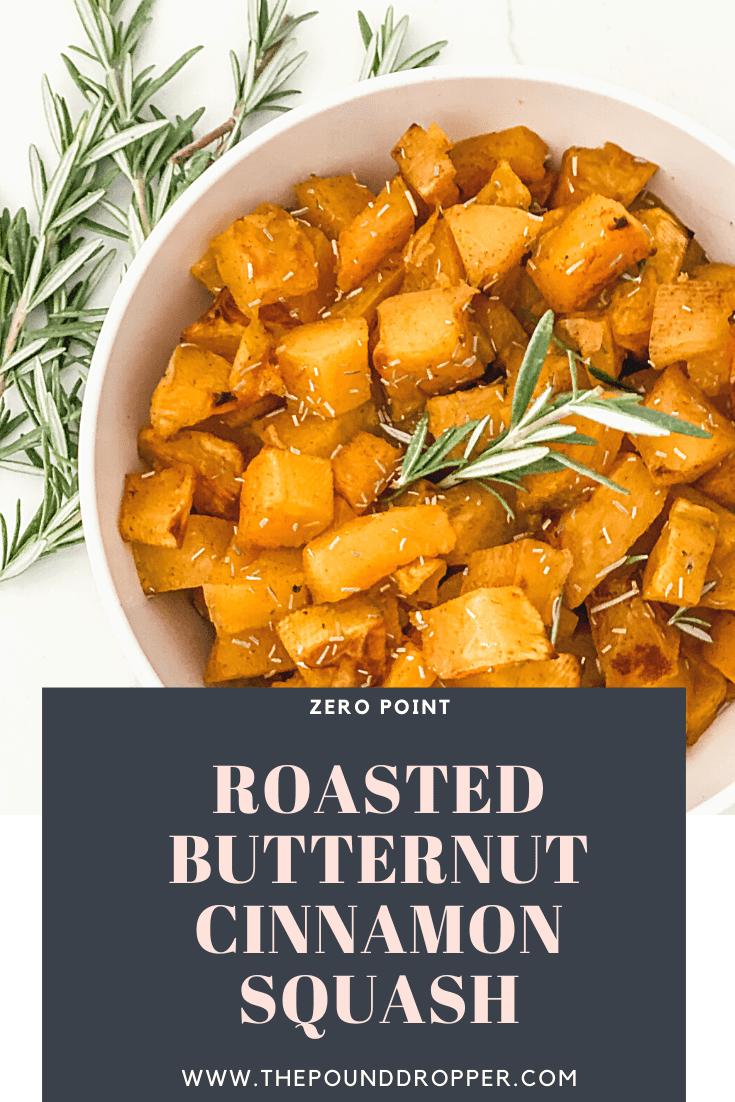 Zero Point Roasted Butternut Cinnamon Squash via @pounddropper