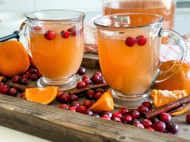 Instant Pot or Slow Cooker Hot Apple Cider
