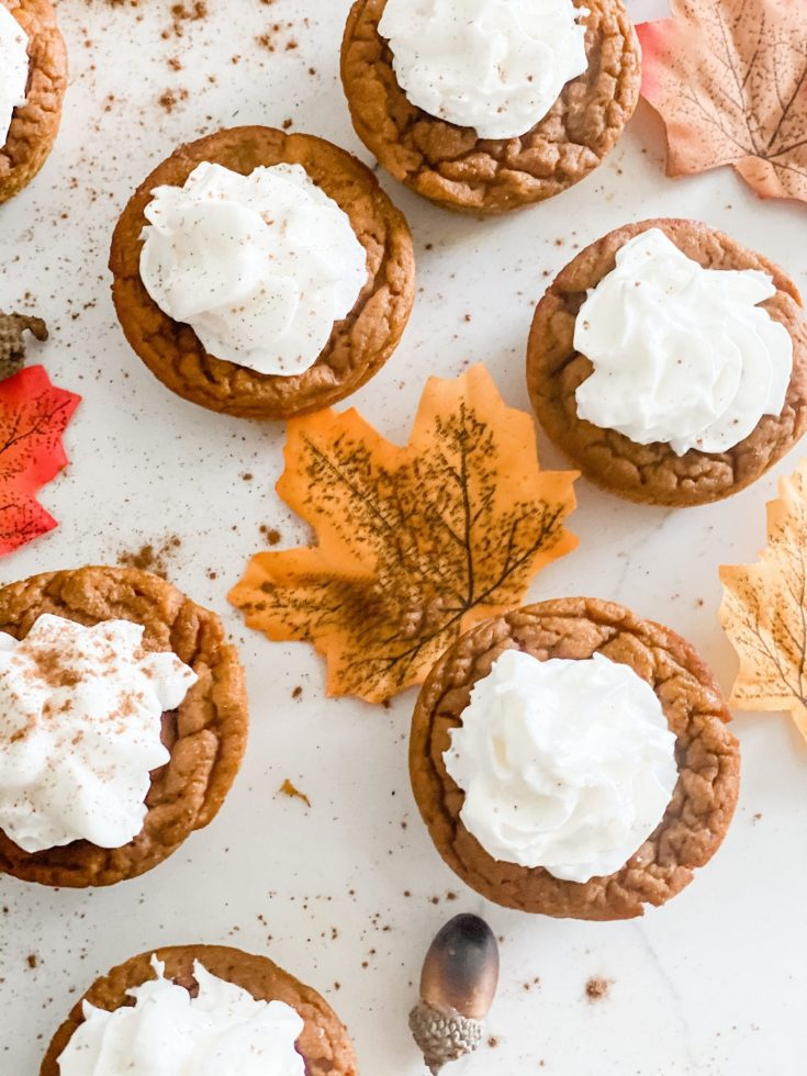 Weight Watchers Crustless Pumpkin Pie Cupcakes