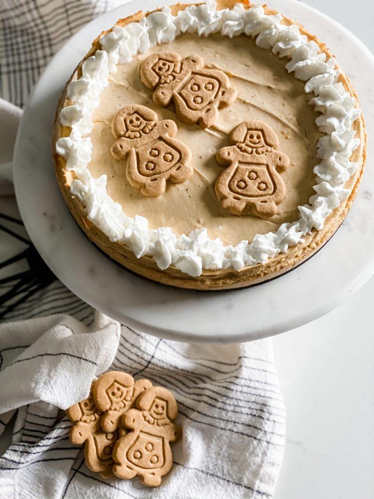 Weight Watchers Gingerbread Cheesecake
