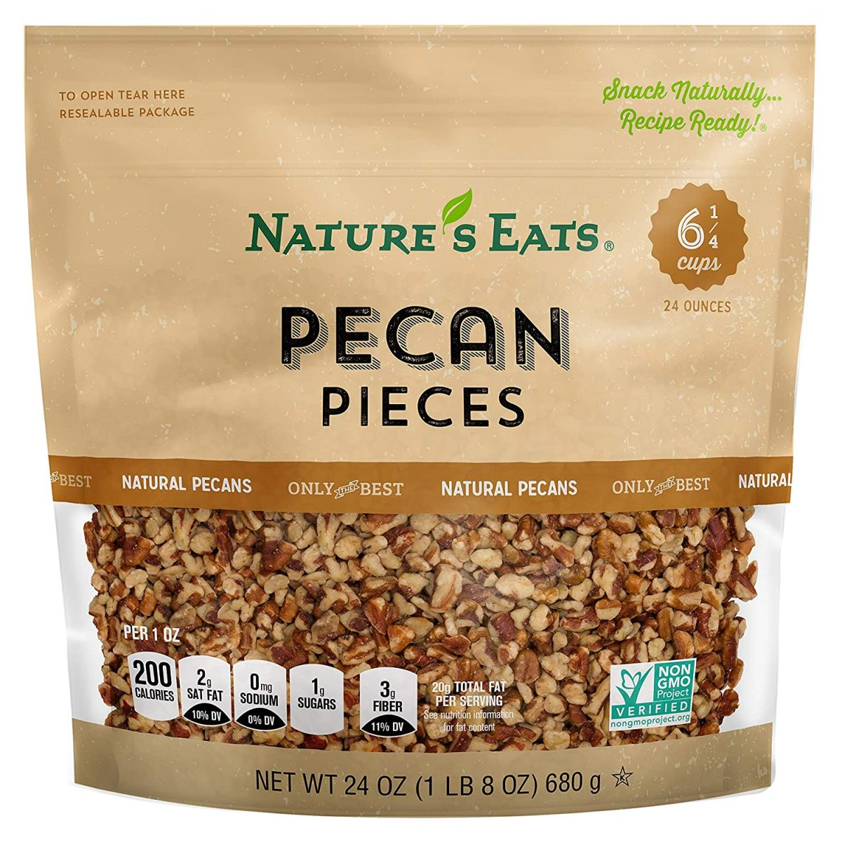 Nature's Eats Pecan Pieces