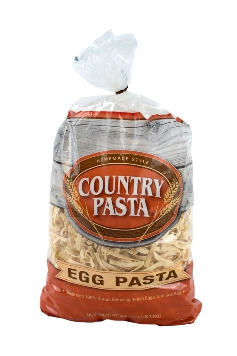 Country Pasta Homemade Style Egg Noodles