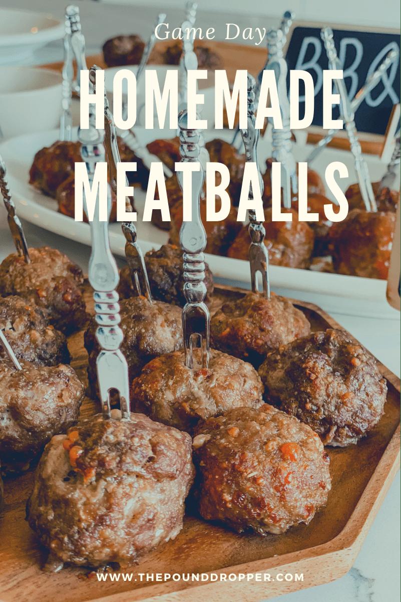 Homemade Meatballs via @pounddropper
