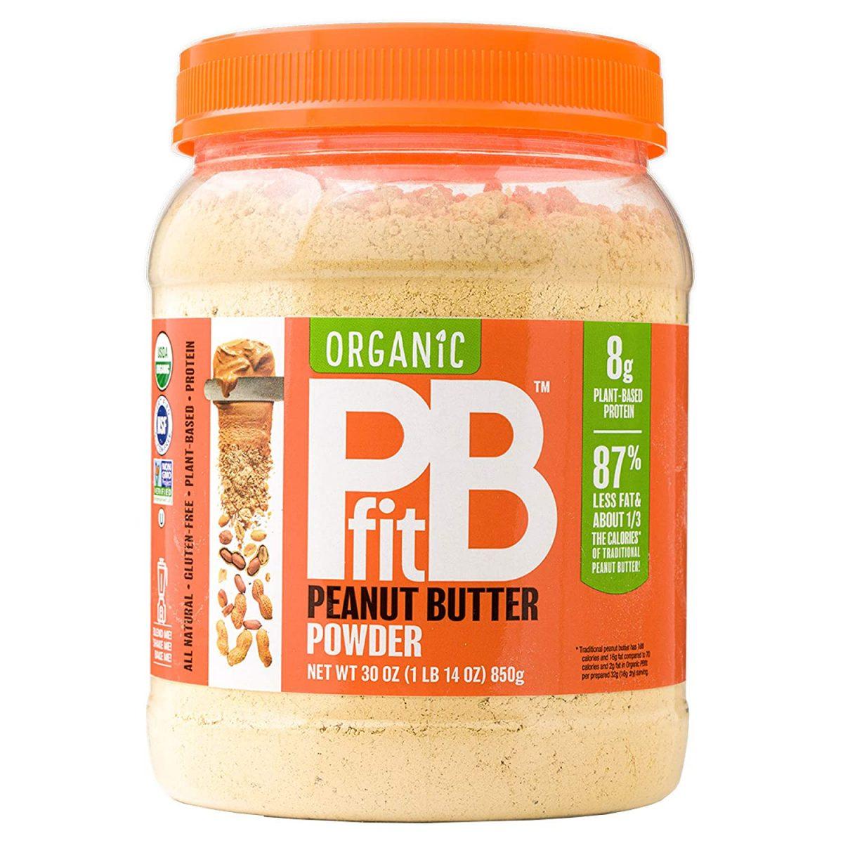 PBfit All-Natural Organic Peanut Butter Powder, Powdered Peanut Spread