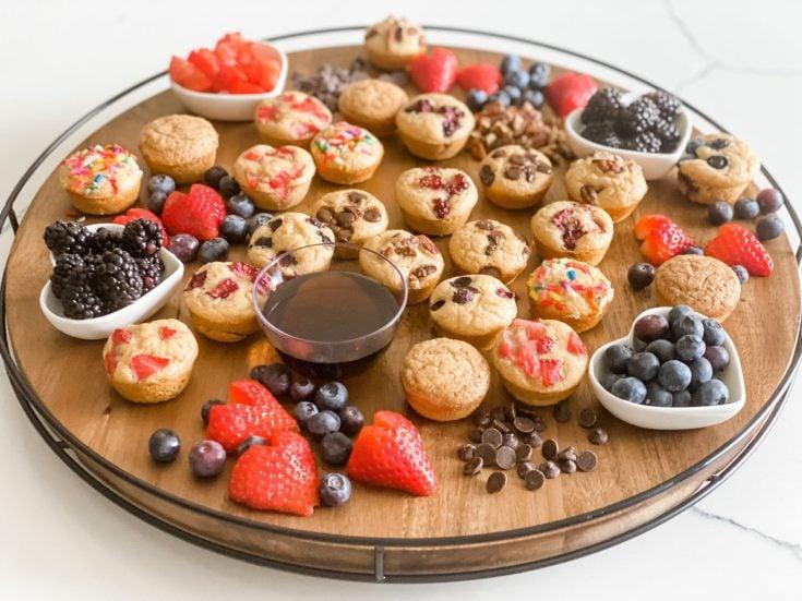 Mini Muffin Breakfast Board