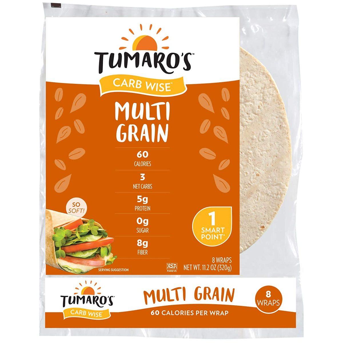 Tumaro's CarbWise Tortillas