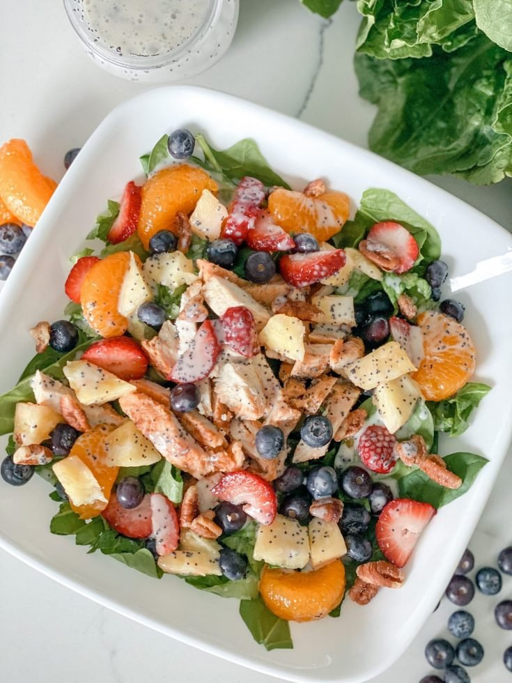 Strawberry Poppyseed Salad (Panera Copycat)