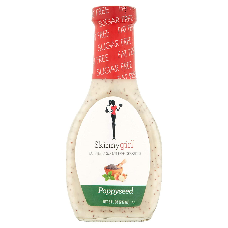 Skinny-girl Poppyseed Fat Free-Sugar Free Salad Dressing
