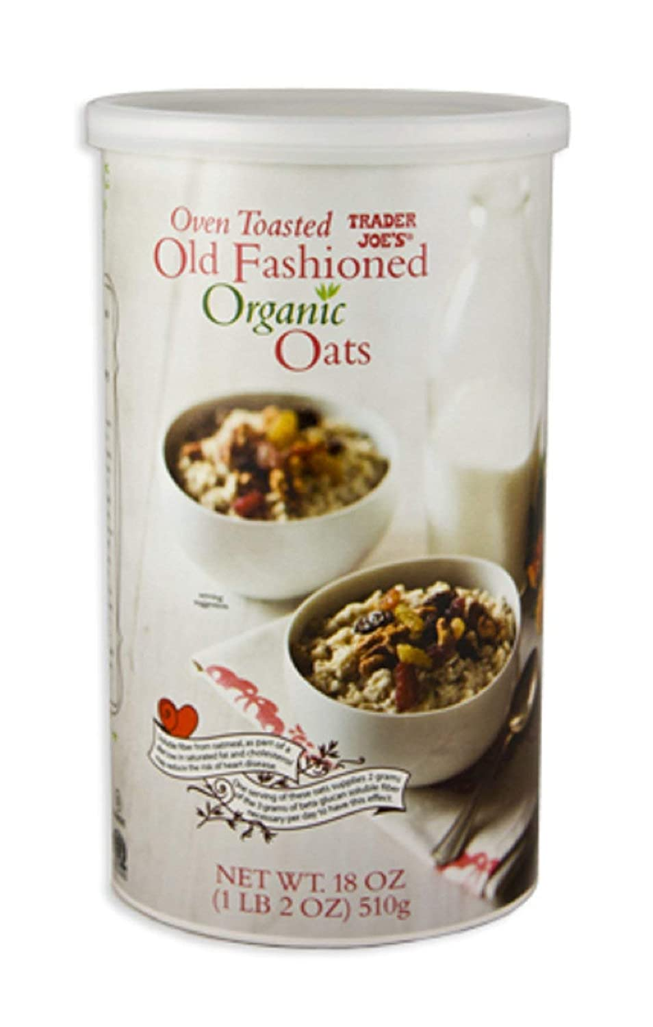 Trader Joe's Oven Toasted Old Fashioned Organic Oats