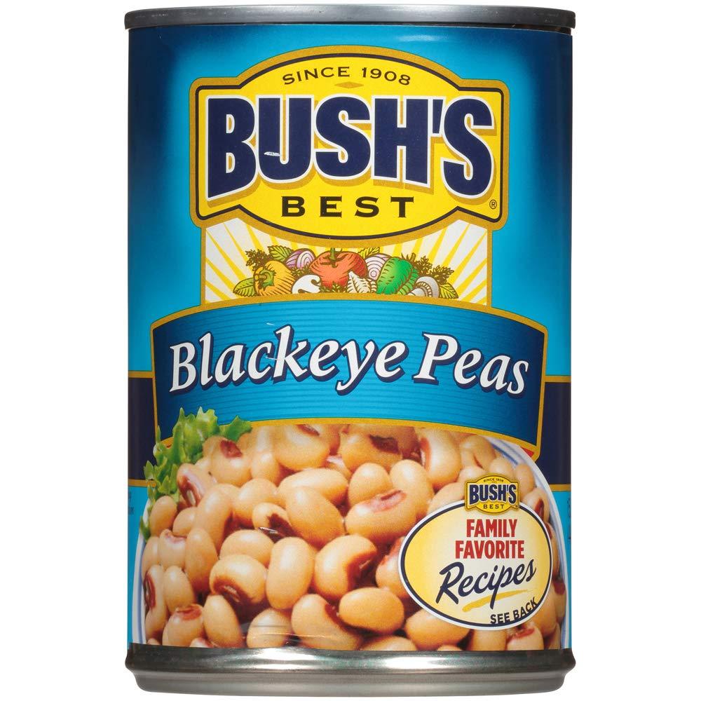 Bush's Best Baked Beans, Blackeye Peas,
