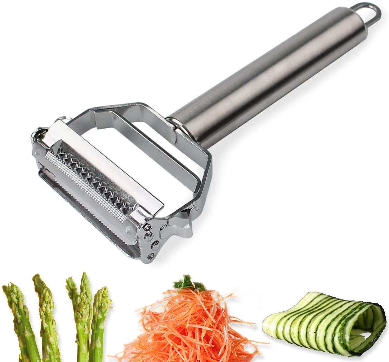 Stainless Steel Vegetable Julienne Peeler
