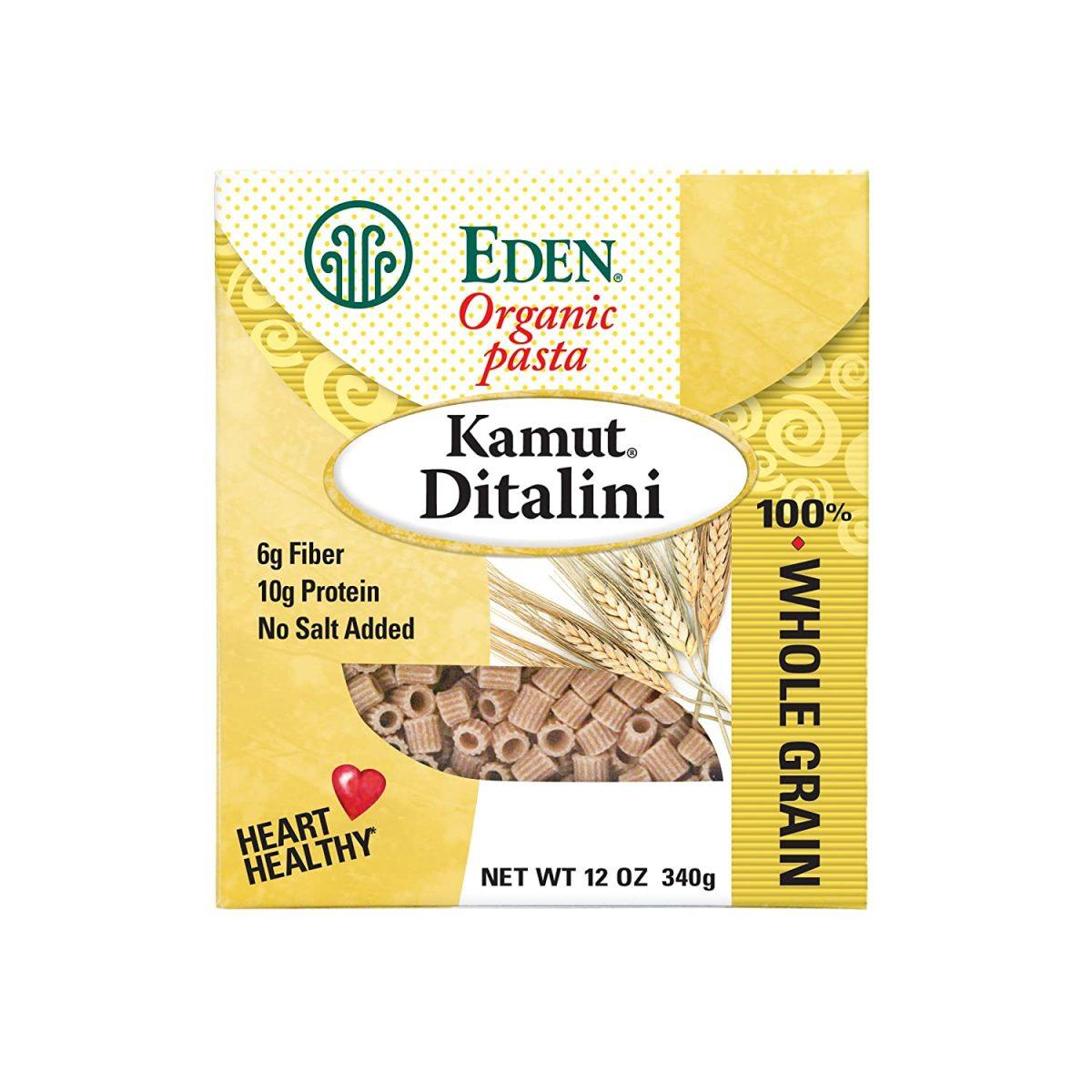 Organic Kamut Ditalini, 100% Whole Grain