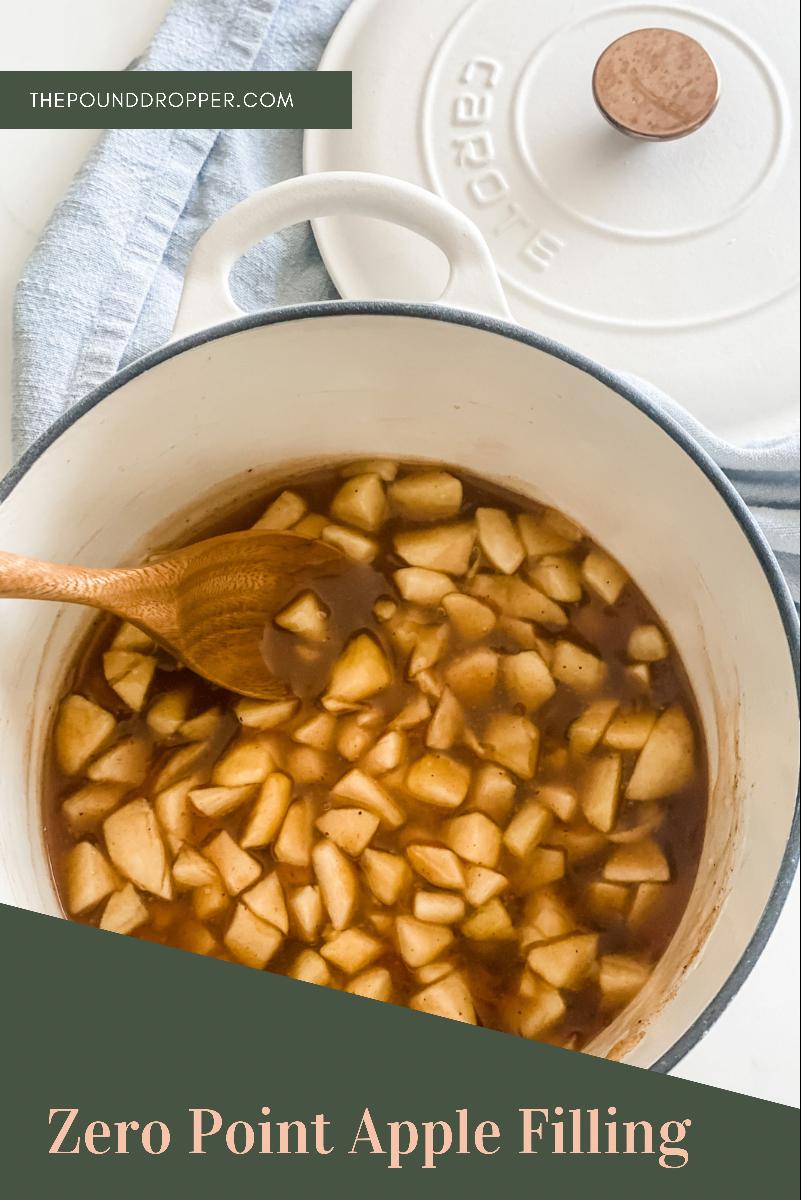 Zero Point Cinnamon Apple Pie Filling   Pound Dropper