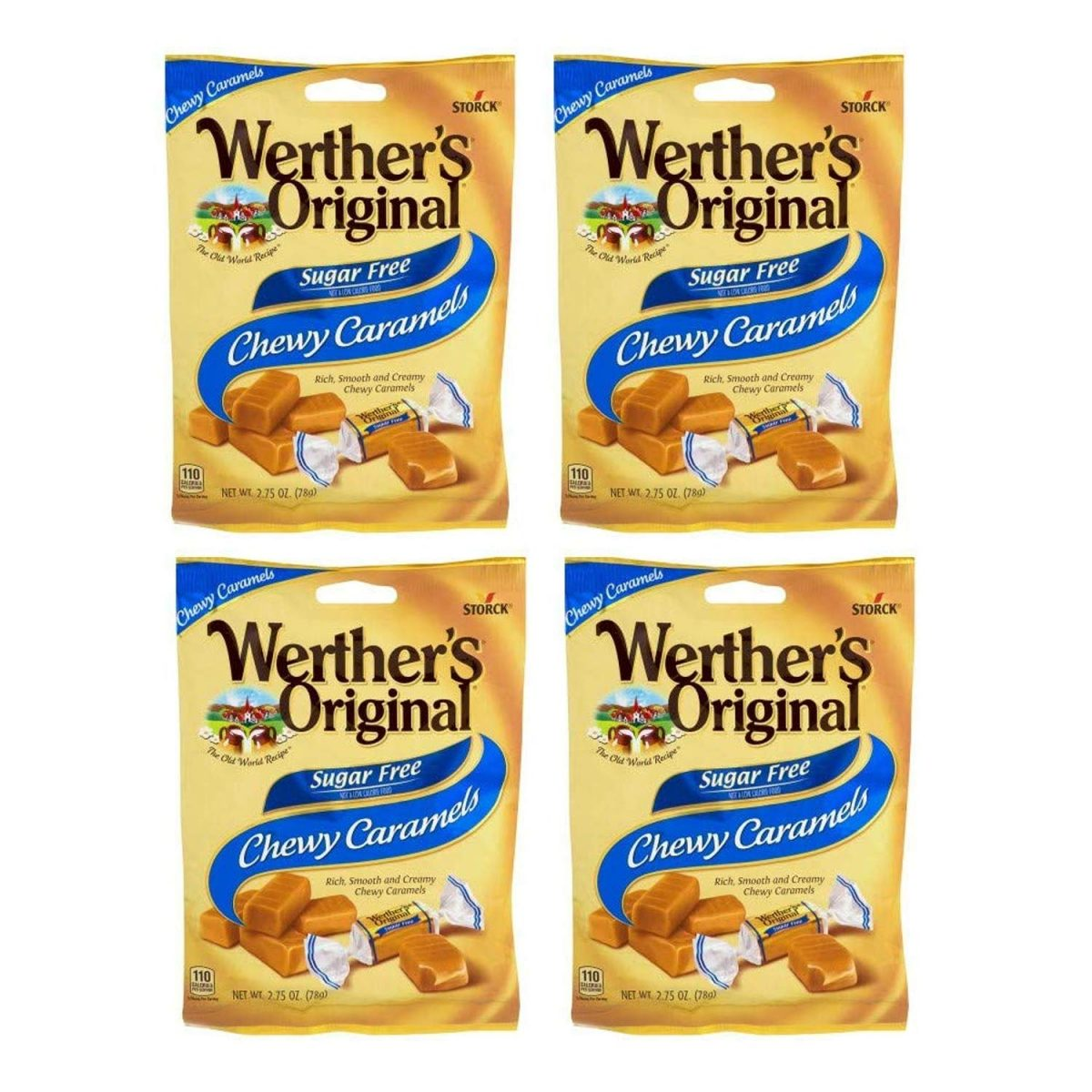Werthers Sugar Free Chewy Caramels